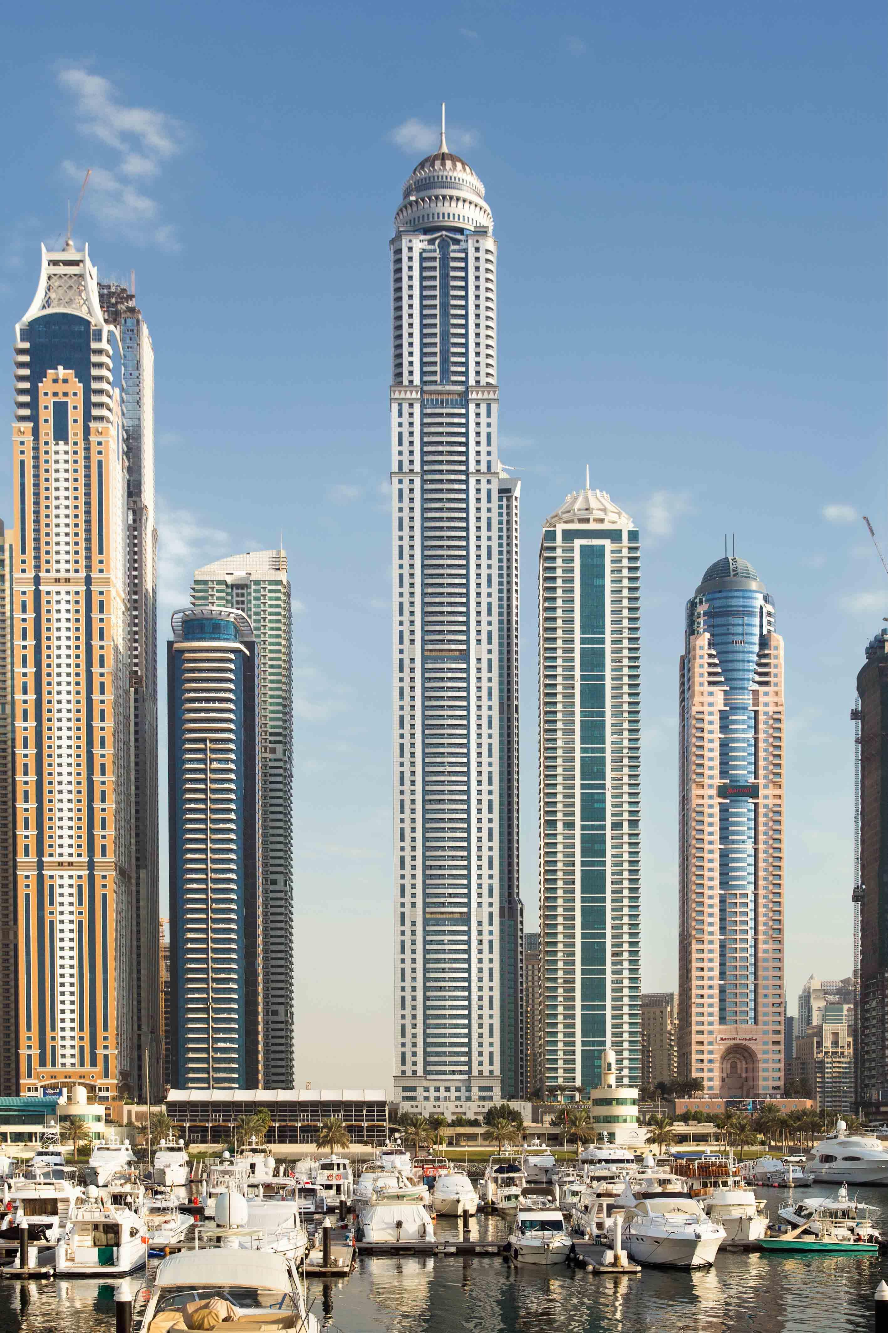 Building Construction Wallpaper Hd Princess Tower Arabian Construction Company