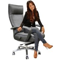 Lafer Gaga Executive Recliner Chair Leather Office ...
