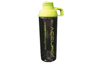 Clear Plastic Accuro Water Bottle - Resized