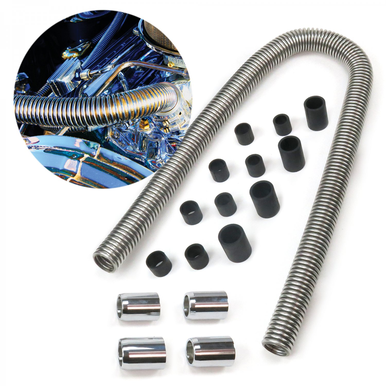 Universal 48 Stainless Steel Radiator Flexible Coolant