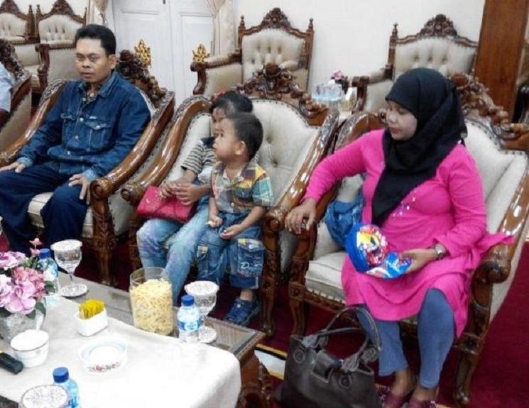 Dinas Sosial Pulangkan Korban Tsunami dari Bandung