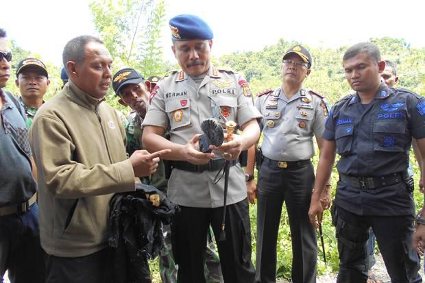 Kerangka Brimob Korban Tsunami Aceh Ditemukan