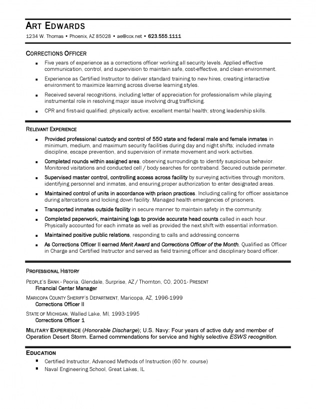 Resume Samples - Ace Resume
