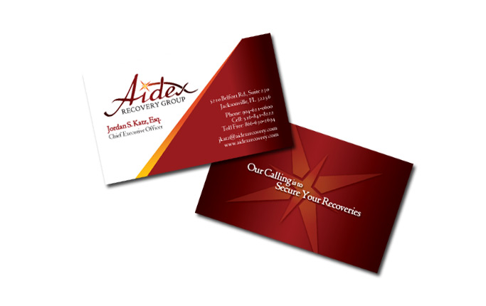 Business Cards Corporate Identity Tampa - business card sample