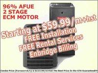 Furnace Rental Toronto | Air Conditioner Rental Mississauga
