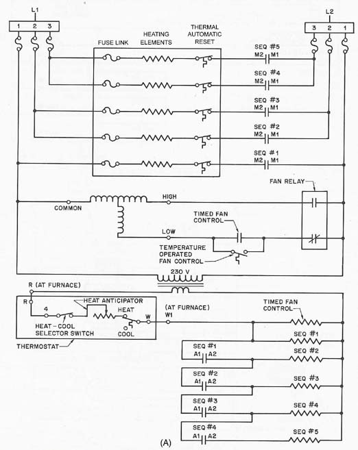 Electric Heat Wiring Diagram - Wwwcaseistore \u2022