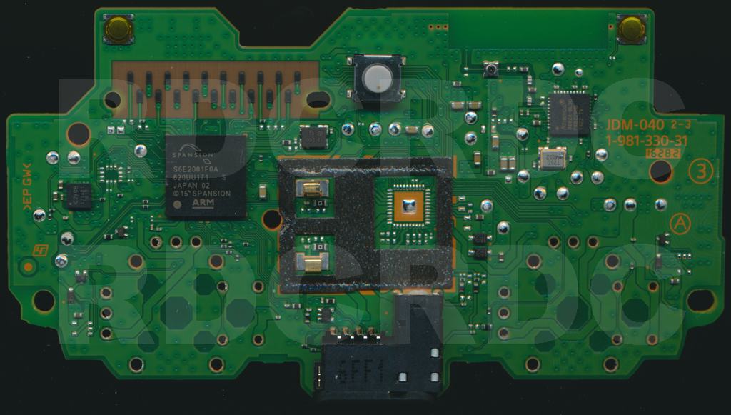 DualShock 4 Controller PCB scans