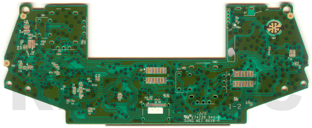 XB1 Controller PCB Scans, Traces and Info - 1537