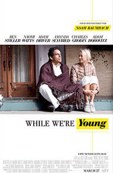 While We're Young starring Ben Stiller, Naomi Watts, Adam Driver and Amanda Seyfried
