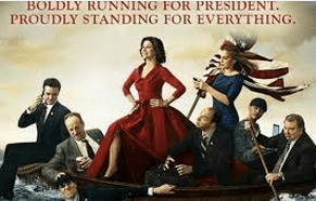 Veep starring Julia Louis-Dreyfus