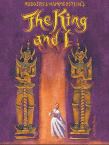 The King and I opens April 16th.