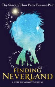Finding Neverland opens April 15th