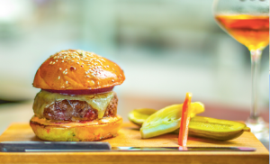 The Nomad Bar Burger