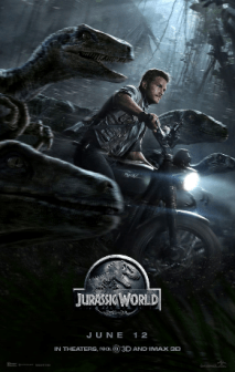 Jurassic World starring Chris Pratt