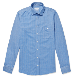 Richard James Herringbone Shirt - was $290 now $87