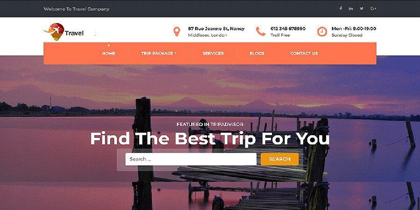 travelcompany free wordpress travel themes - Acme Themes Blog