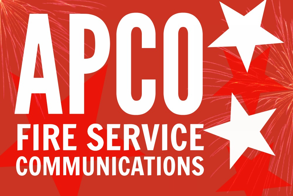 APCO Fire Service Communications - ACOG - fire service application form