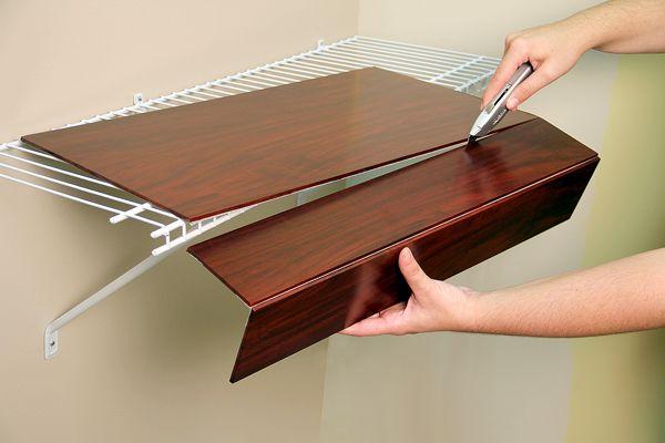 Renew Wire Shelf Covers A Concord Carpenter