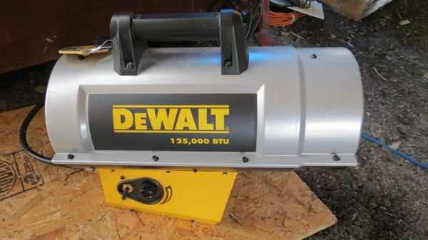 Dewalt Construction Heater Dxh125 A Concord Carpenter