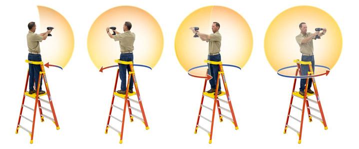 Werner Podium Ladder A Concord Carpenter