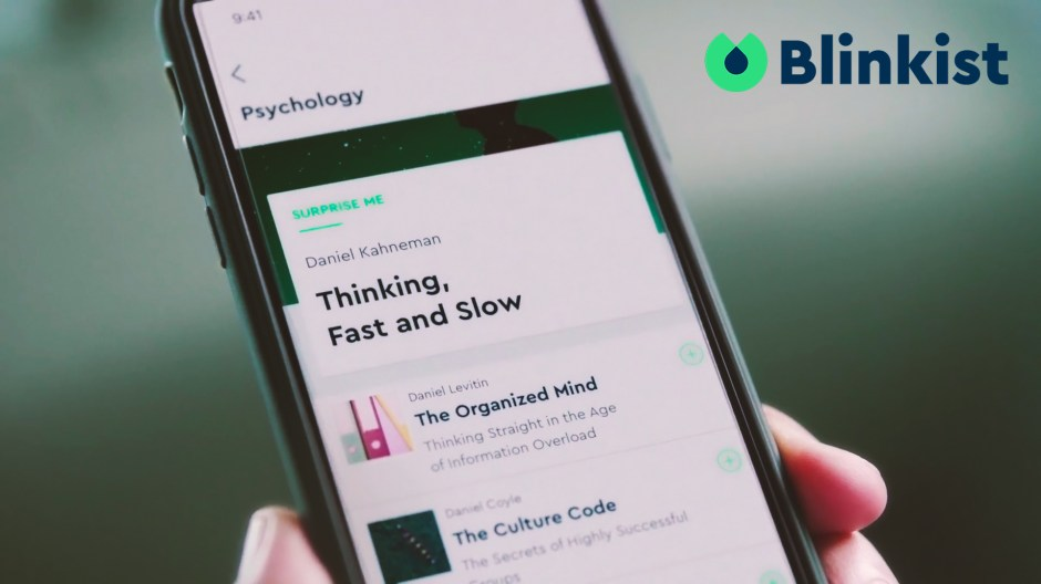STRATEGY & CREATIVE DIRECTION for blinkist TV Ad 2018