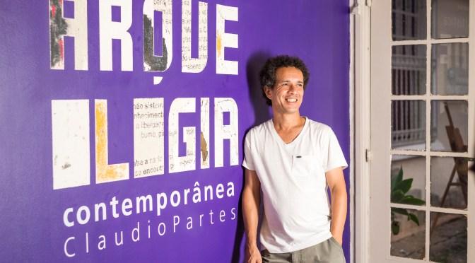 """Claudio Partes inaugura exposição """"Arqueologia Contemporânea"""""""