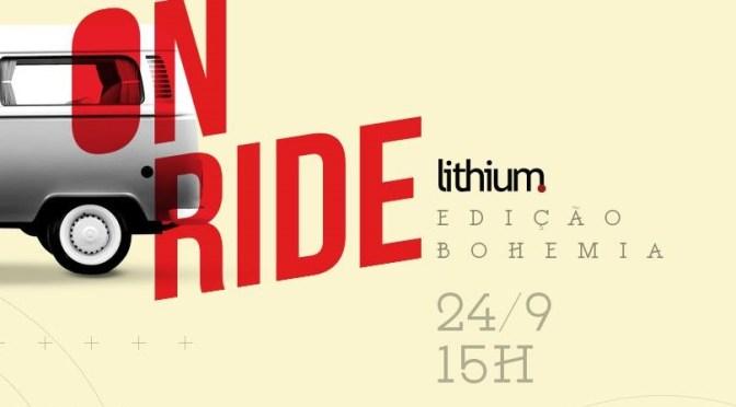 Cervejaria Bohemia recebe o projeto 'Lithium OnRide'