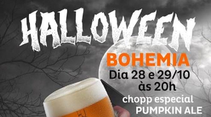 Bar Bohemia oferece chopp especial em festa de Halloween