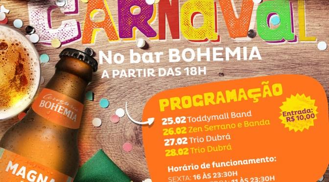 Atrações diversificadas prometem lotar a Bohemia neste Carnaval