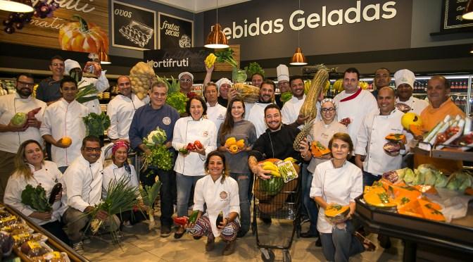 Petrópolis Gourmet reúne Chefs para foto no Armazém do Grão