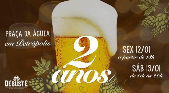 Deguste comemora dois anos em Petrópolis com ótimos shows