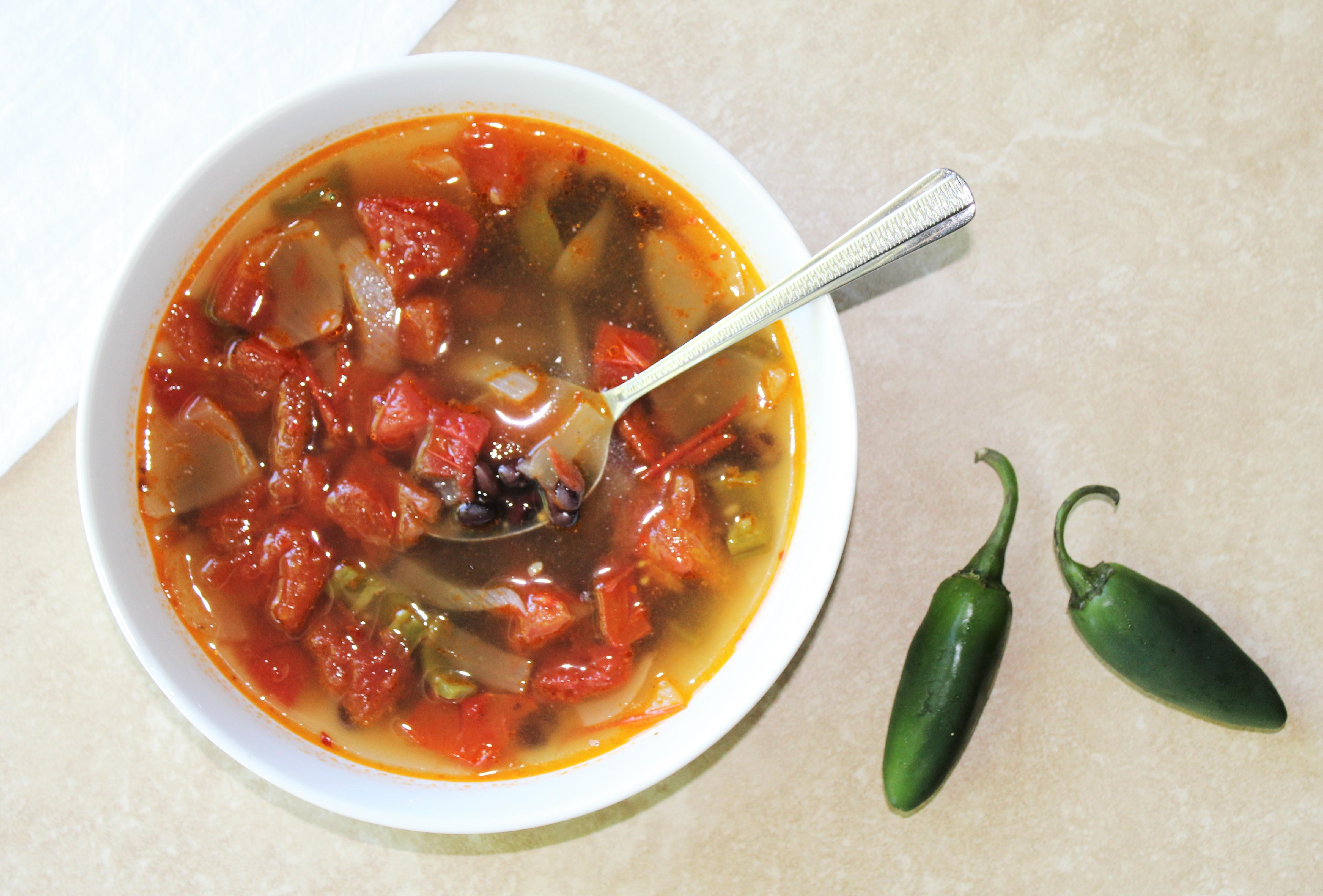 Black Bean Garden Soup 1