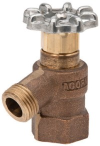 Bent Nose, No Vacuum Breaker, Hose Valves - Acorn Engineering