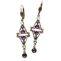 Aurora Borealis Crystal Earrings | 1 Review | 5 Stars ...