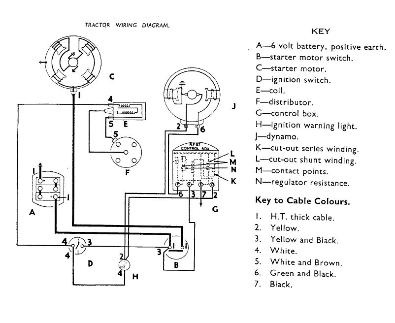 Ford Tractor Wiring Diagram In Addition 1954 Farmall Super H Tractor
