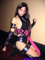 Marvel Psylocke Cosplay Costume