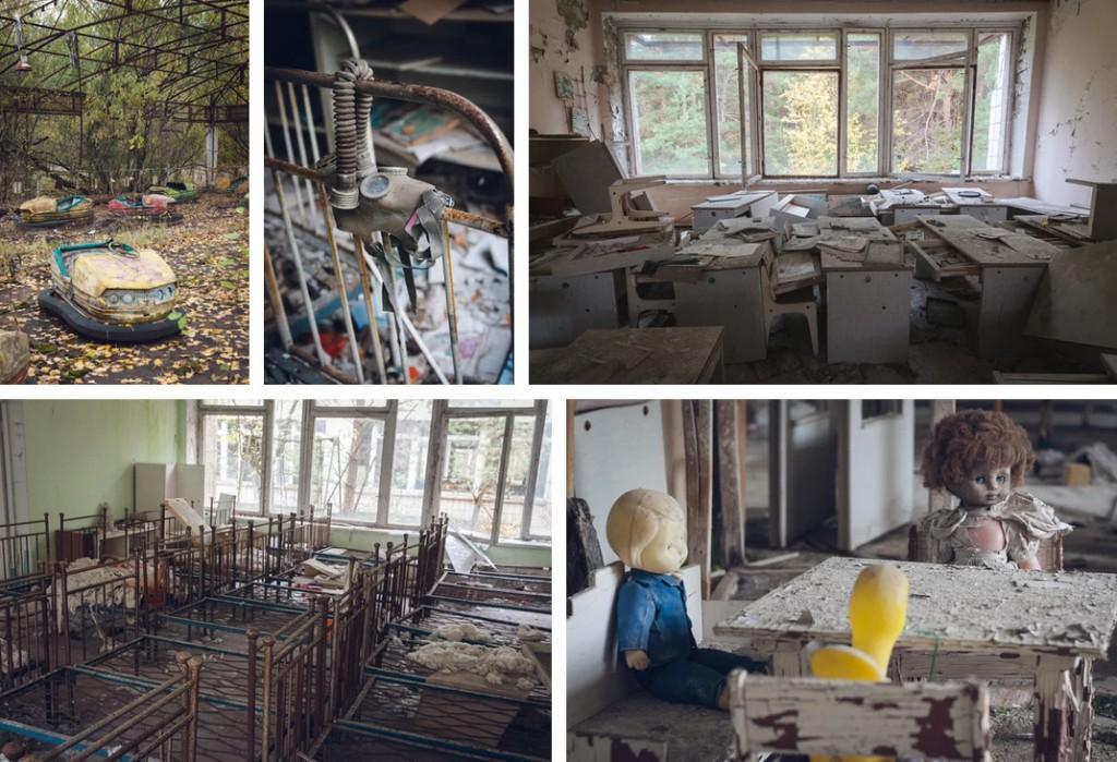 Chernobyl abandonada