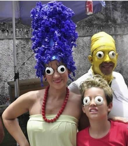 fantasia carnaval - simpson