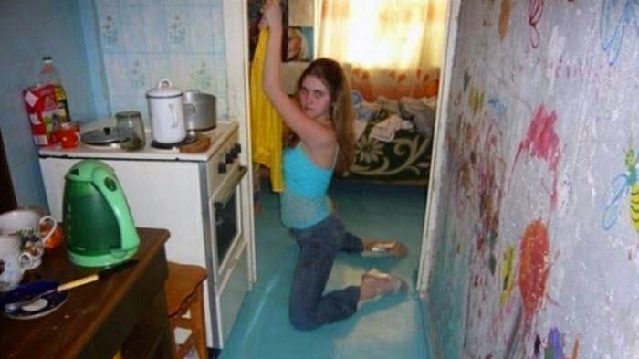 sensualizando na cozinha