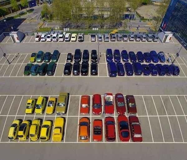 carros organizados