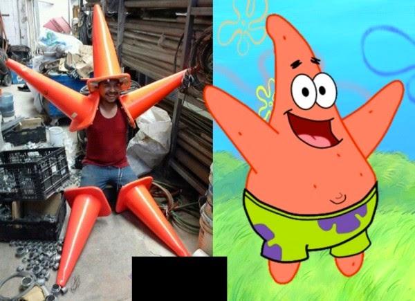 Fantasia de carnaval - Patrick