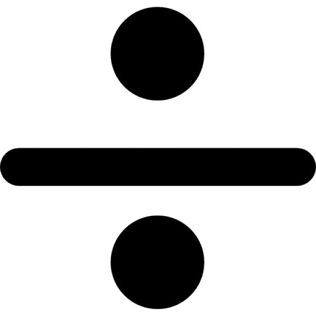 sinal de divisao