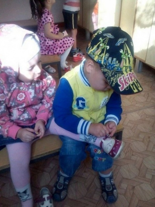 crianças