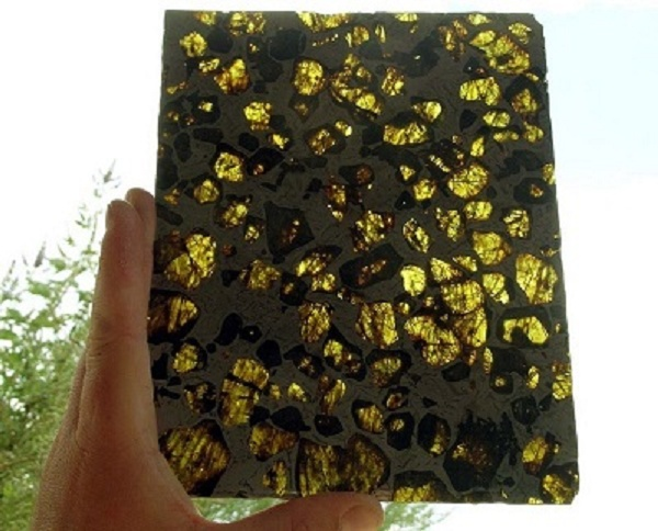 pedaço meteorito