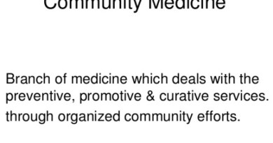 Community Medicine (PSM) mini test – 1