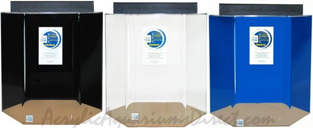 55 Gallon Acrylic Hexagon Aquarium 24x25 | Acrylic Aquariums