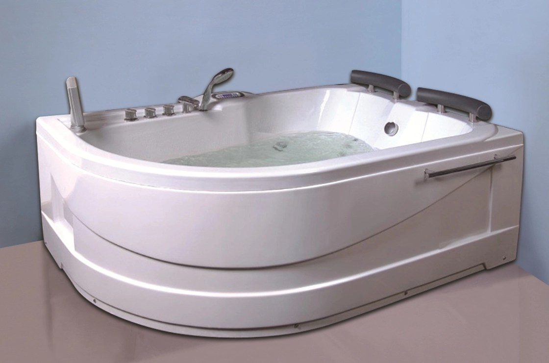 Air Bath Tub With Heater 2 Person Jacuzzi Tub Indoor