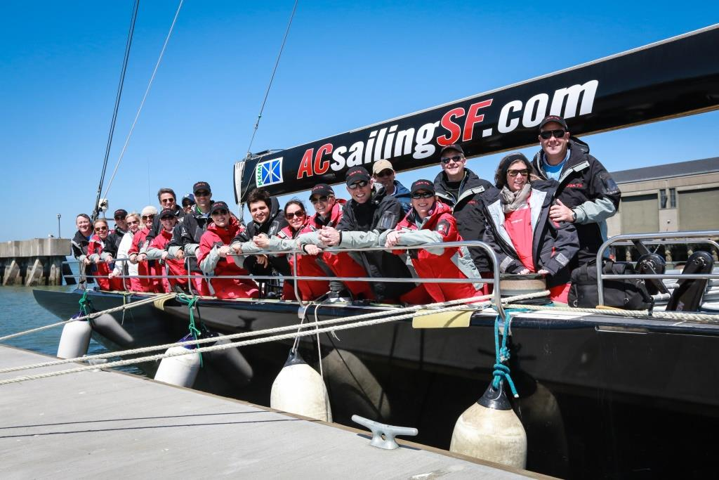 Corporate events and team building activities in San Franciso - ACsailing SF