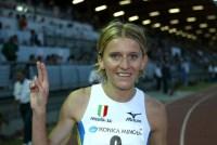 Firenze 10/07/2004 assoluti di atletica leggera Michalska Marzena 3000siepi   foto Omega/Colombo Giancarlo