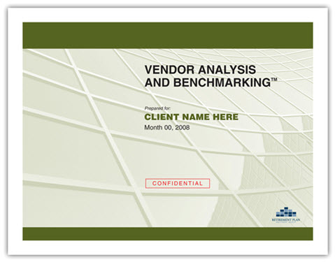 Vendor Analysis and Benchmarking™ Act2 Retirement Consulting